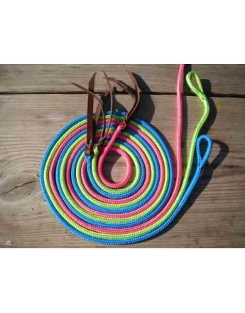 Kolorowy sznurek do bacika