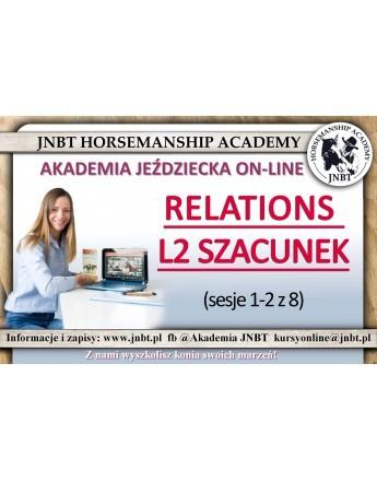 Relations L2 Szacunek sesje 1-2 z 8